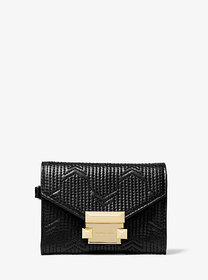Michael Kors Whitney Small Deco Quilted Leather Ch