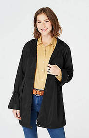 Pleated Flared-Sleeve Jacket