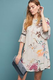 Anthropologie Fleur Tunic Dress