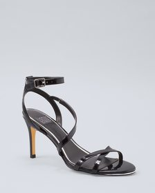 Patent Leather Strappy Heels