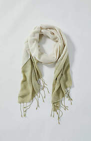 Pure Jill Textured Dip-Dyed Scarf