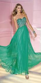 Alyce Paris - 6193 Dress in Electric Green