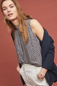 Anthropologie Cloth & Stone Liana Blouse