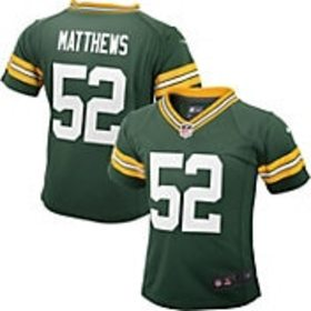 Nike Toddler Home Game Jersey Green Bay Packers Cl