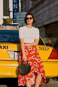 Anthropologie Colloquial Tied Skirt