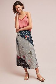 Anthropologie Koyal Floral Skirt