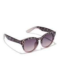 Faux-Tortoise Round Sunglasses - New York & Compan