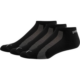 Puma Men's No Show Bamboo Socks [3 Pack]
