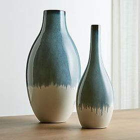 Crate Barrel Cascade Vases