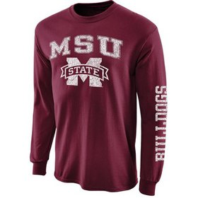 Mississippi State Bulldogs Big Arch N' Logo Long S