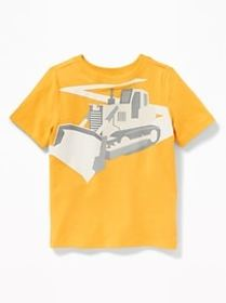 Graphic Crew-Neck Tee for Toddler & Baby