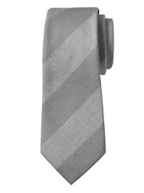 Chambray Stripe Nanotex® Tie