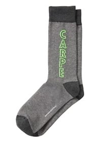 Carpe Diem Sock