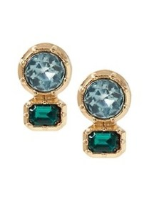 Brilliant Gemstone Stud Earrings