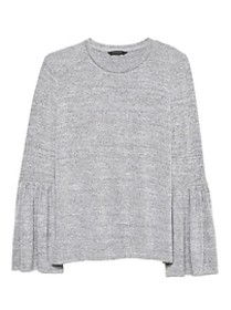 Luxespun Bell-Sleeve Top