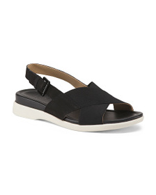 NATURALIZER Leather Footbed Sandals