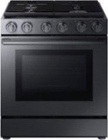 Samsung - Chef Collection 5.8 Cu. Ft. Slide-In Gas