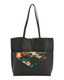 CARLOS SANTANA Elena 2-in-1 Tote With Pouch