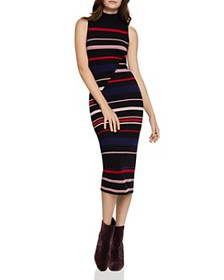 BCBGENERATION - Striped Midi Sweater Dress