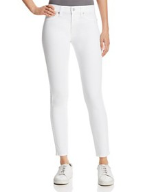 7 For All Mankind - The Ankle Skinny Jeans in Clea
