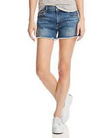 7 For All Mankind - High Rise Vintage Cutoff Jeans