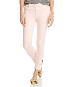 7 For All Mankind - High Rise Ankle Skinny Jeans i