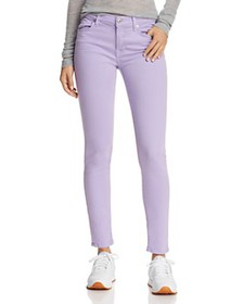 7 For All Mankind - Ankle Skinny Jeans in Soft Lil