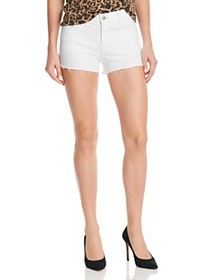 J Brand - 1044 Mid Rise Denim Shorts in Blanc