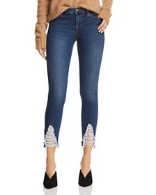 J Brand - 811 Mid Rise Skinny Jeans in Midnight Mo