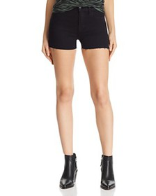 J Brand - 1044 Mid Rise Denim Shorts in Black