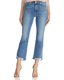 7 For All Mankind - High-Waist Slim-Kick with Chew