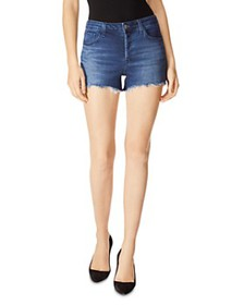 J Brand - Gracie High-Rise Denim Shorts in Galaxy