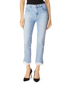 J Brand - Ruby High Rise Crop Stovepipe Jeans in F