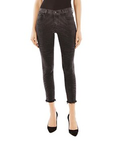 J Brand - 835 Mid Rise Crop Skinny Jeans in Fame