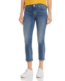 7 For All Mankind - Kimmie Cropped Jeans in b(air)