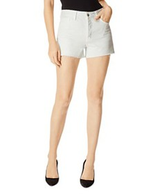 J Brand - Gracie High-Rise Denim Shorts in Turks