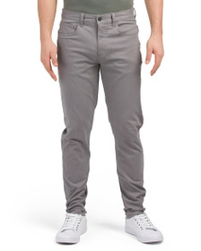 BEN SHERMAN Slim Straight Leg Trousers