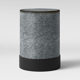 Hawley Galvanized Drum End Table - Threshold™