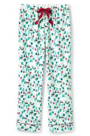 Lands End Women's Plus Size Flannel Sleep Pant
