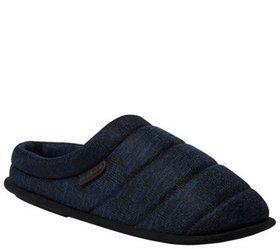Dearfoams Men's Quilted Clog Slippers - A424224