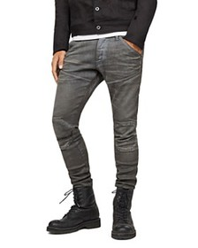 G-STAR RAW - 5620 3D Knee-Zip Super Slim Jeans in