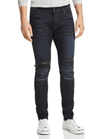 G-STAR RAW - 5620 3D Knee Zip Skinny Fit Jeans in
