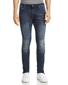 G-STAR RAW - 5620 3D Ankle Zip Skinny Fit Jeans in
