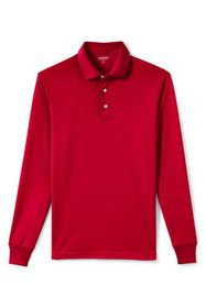 Lands End Men's Supima Interlock Polo Shirt