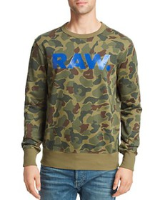 G-STAR RAW - Zeabel Camouflage-Print Logo Graphic