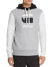 G-STAR RAW - Graphic 19 Core Color-Block Hooded Sw