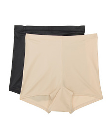 MAIDENFORM 2pk Cool Comfort Boy Shorts