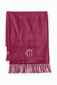 Lands End CashTouch Solid Throw
