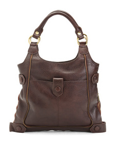AMERILEATHER Leather Judelle Universal Shoulder Ba
