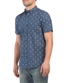 BEN SHERMAN Short Sleeve Ice Lolly Geo Shirt